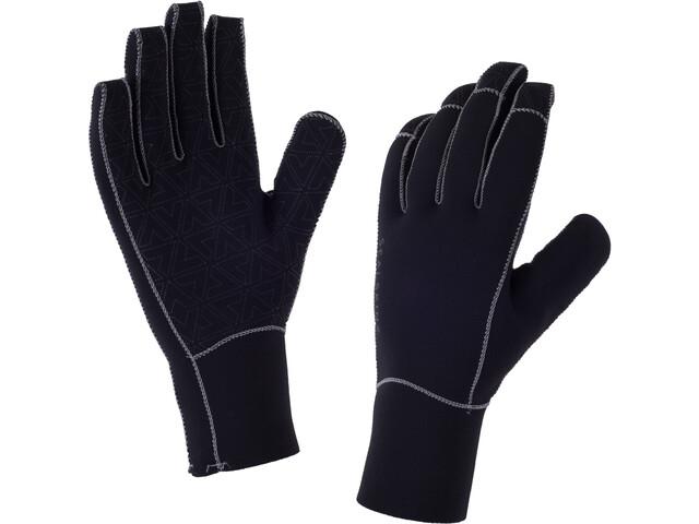 Sealskinz M's Neoprene Gloves Black/Charcoal